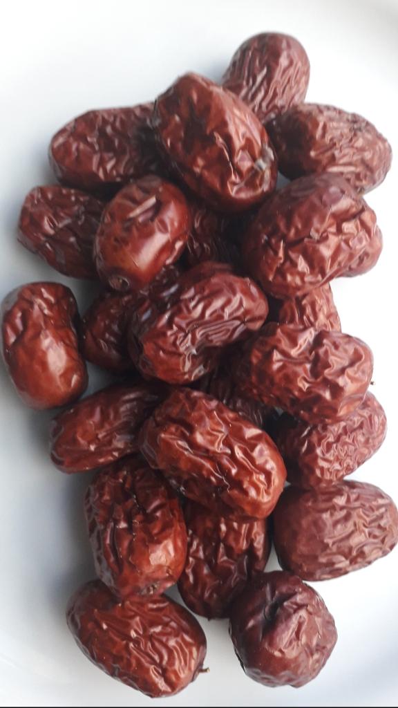 ijzerrijke jujube's verhelpen lage bloeddruk