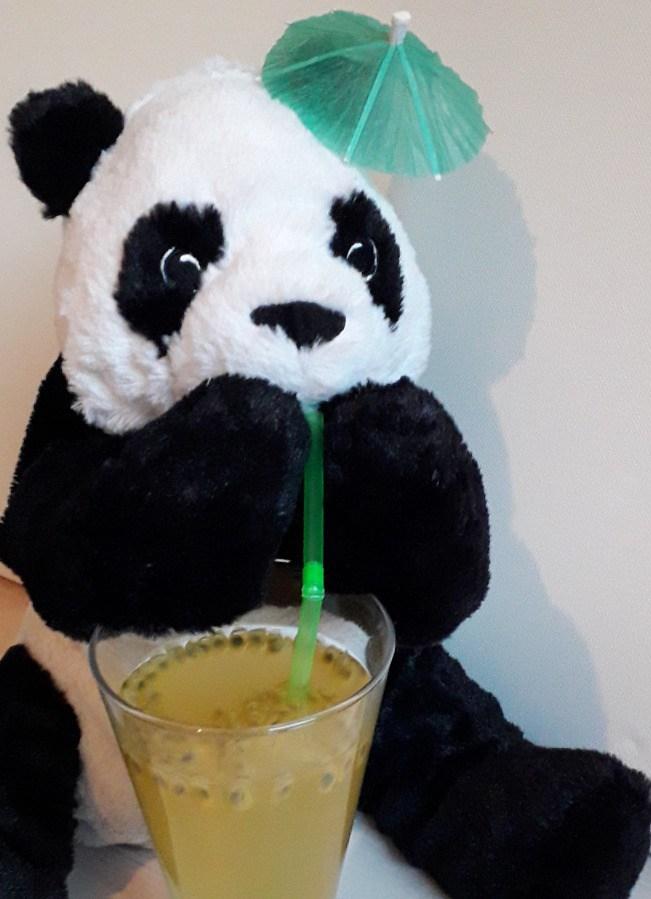 Groene ijsthee met passievrucht en limoen - Recept - Superpandafood