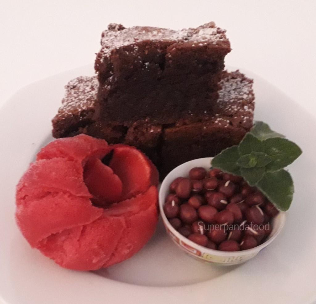 Brownies met adukibonen | Glutenvrij en lactosevrij