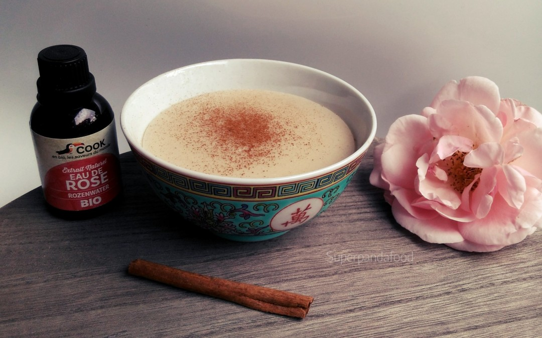 Griesmeelpudding met kaneel en rozenwater - Helpt bij keelpijn - Glutenvrij en lactosevrij