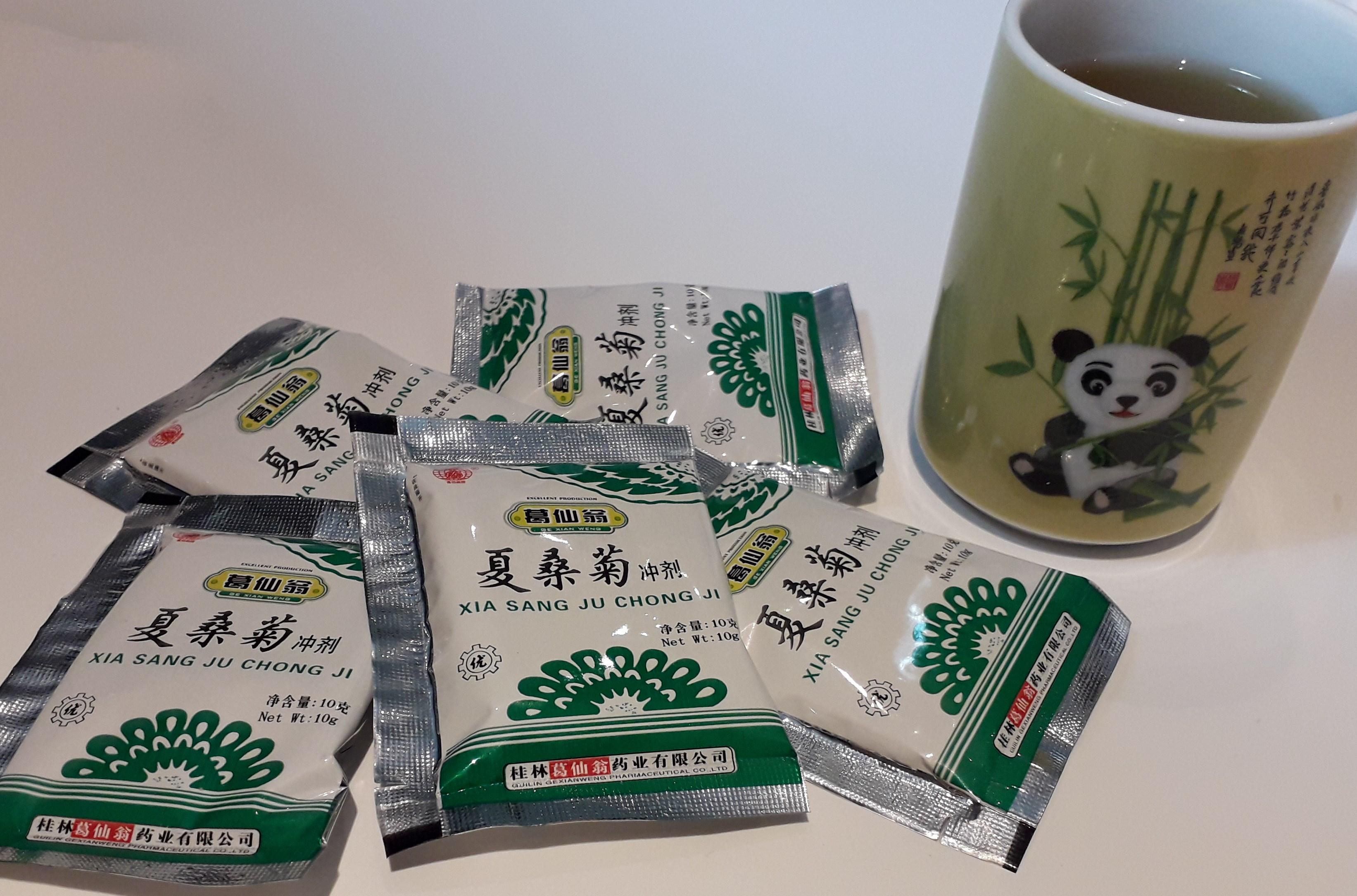 Xiasangju chong ji - Chinese antivirale thee