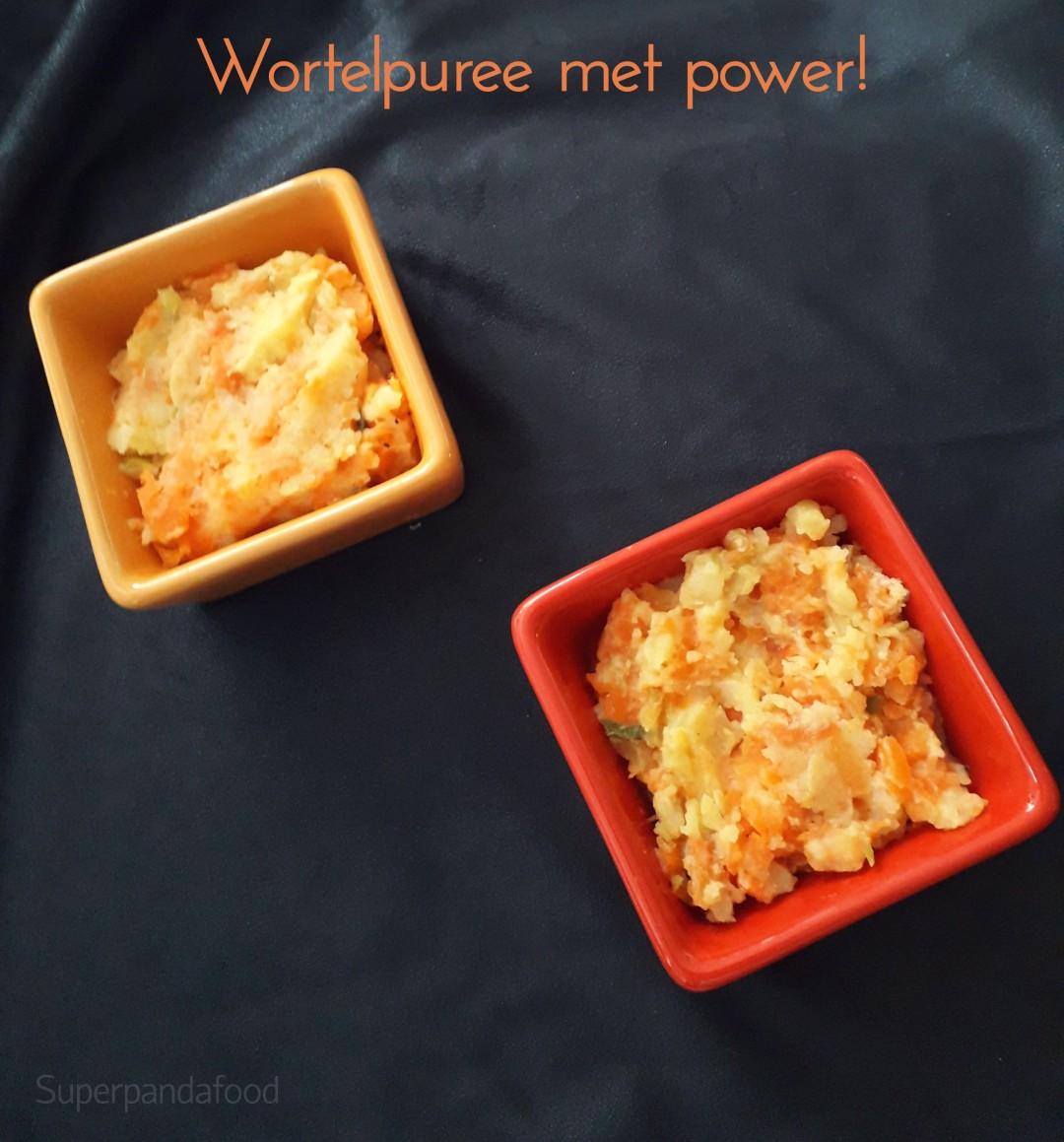 Wortelpuree met lente-ui en gember - Antivirale voeding - 5-elementen-koken