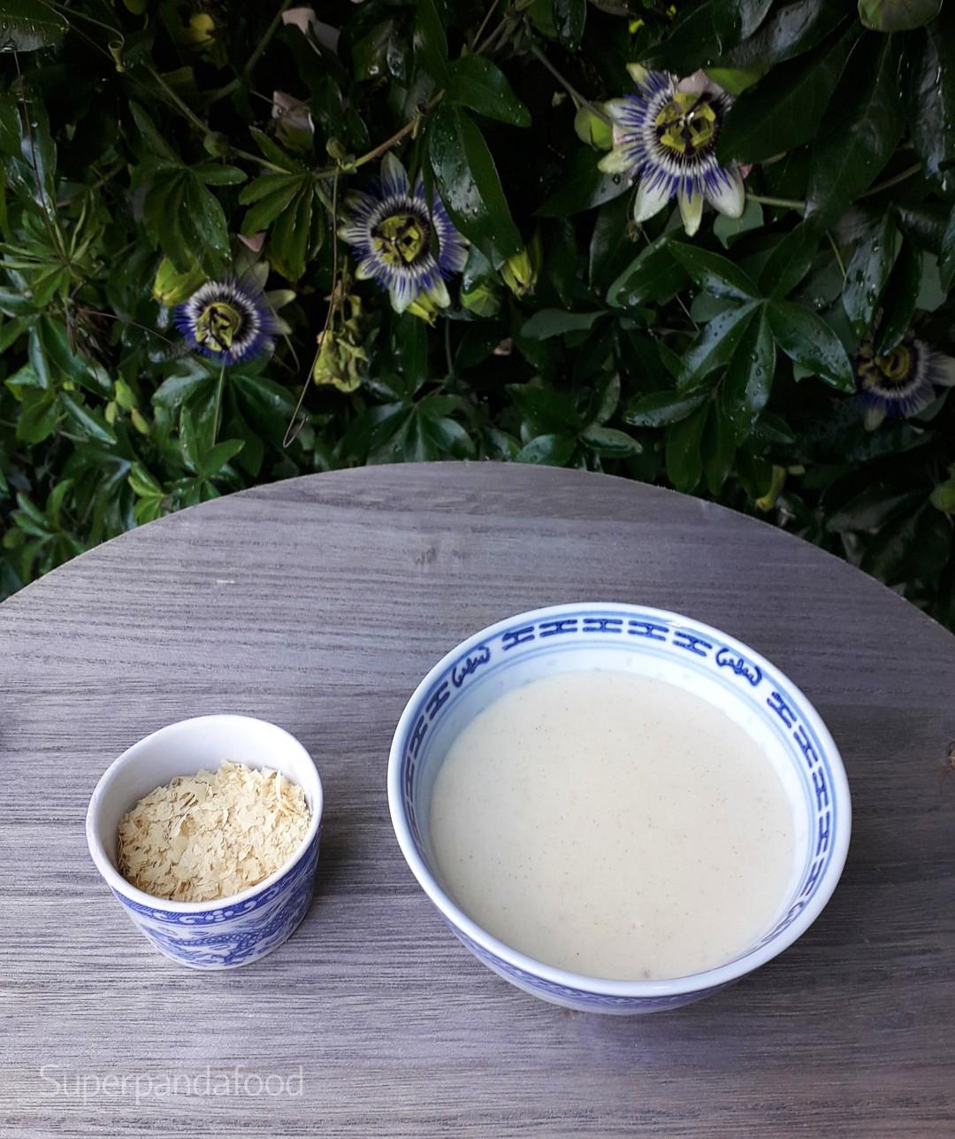 Bechamelsaus met edelgistvlokken - Glutenvrij en lactosevrij