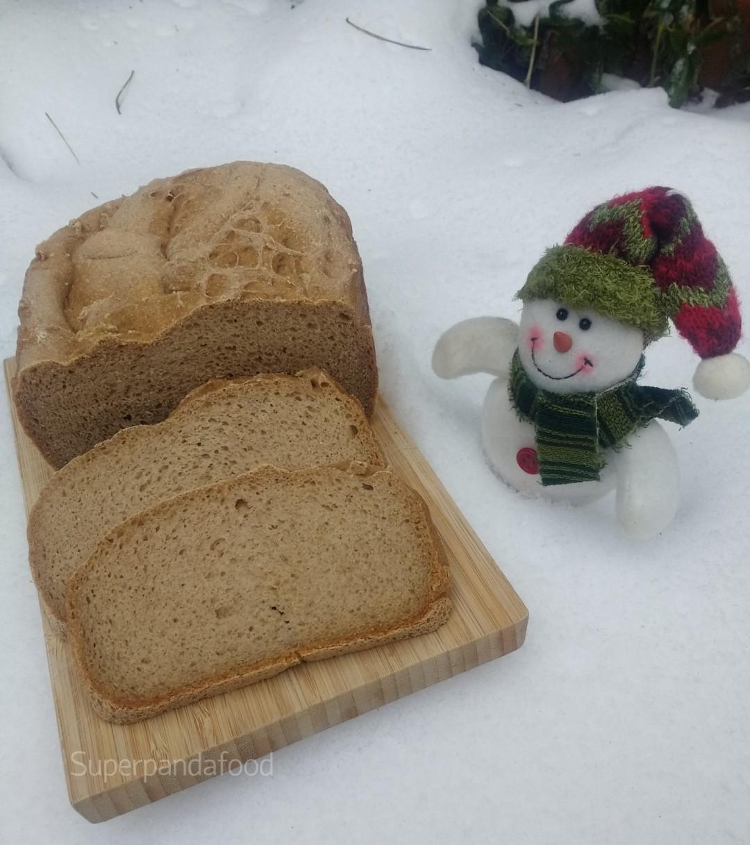 Luchtig glutenvrij en lactosevrij bruin brood met Schär Mix It Dunkel